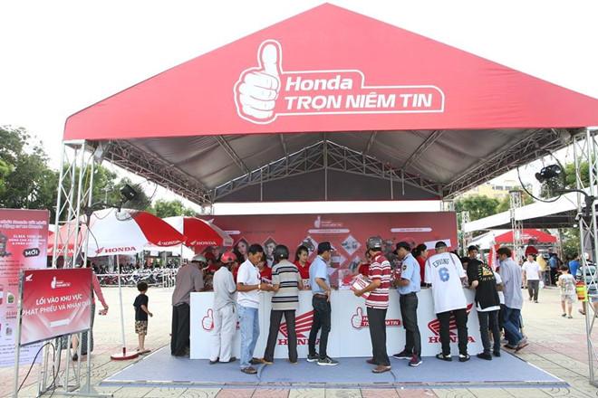 Chuong trinh 'Honda - Tron niem tin' tiep tuc den 14 tinh vao thang 1 hinh anh 1